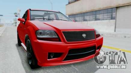 GTA 5 Benefactor Serrano für GTA San Andreas