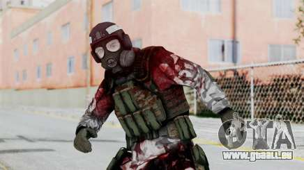 Black Mesa - Wounded HECU Marine Medic v2 pour GTA San Andreas