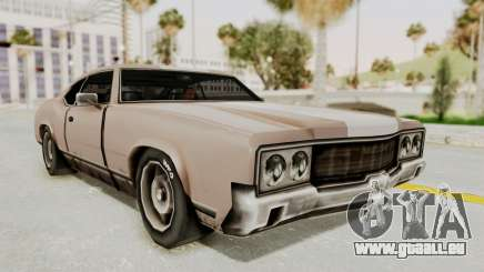 GTA Vice City - Sabre Turbo (Sprayable) pour GTA San Andreas