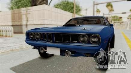 Plymouth Hemi Cuda 1971 Drag pour GTA San Andreas