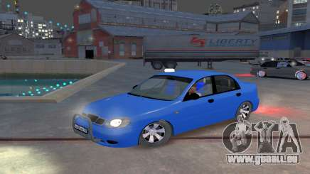 Daewoo Lanos Taxi für GTA 4