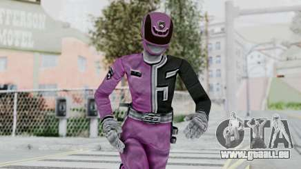 Power Rangers S.P.D - Pink für GTA San Andreas