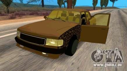 Volga 3110 Classic Bataille pour GTA San Andreas