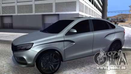 Lada Vesta HD (beta) pour GTA San Andreas