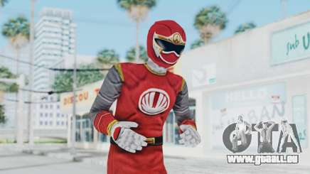 Power Rangers Ninja Storm - Red pour GTA San Andreas
