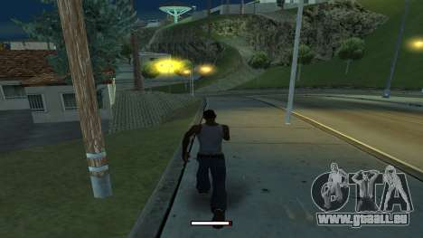 Der Indikator, der schnell laufen für GTA San Andreas zweiten Screenshot