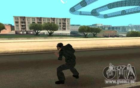 Dragueur de mines pour GTA San Andreas troisième écran