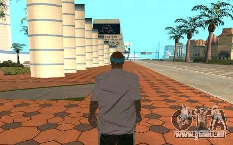 Varios Los Aztecas Gang Member pour GTA San Andreas deuxième écran