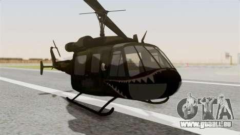 Castro V Attack Copter from Mercenaries 2 für GTA San Andreas