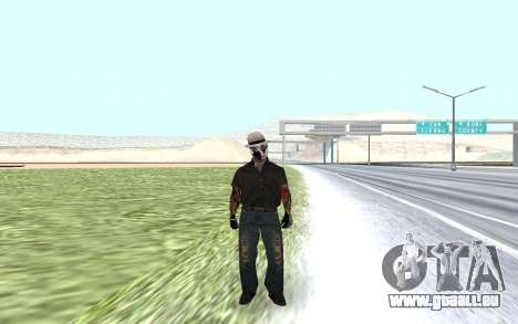 Neue security guard für GTA San Andreas