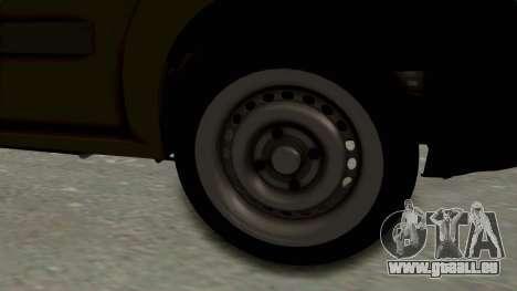 Dacia Logan MCV Van pour GTA San Andreas vue arrière