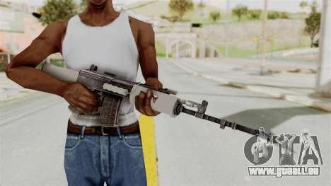 IOFB INSAS Grey für GTA San Andreas dritten Screenshot