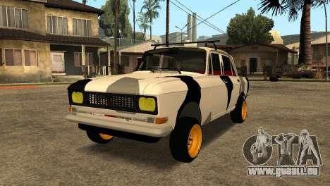 AZLK 412 pour GTA San Andreas