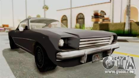 Dominator Classic pour GTA San Andreas vue de droite