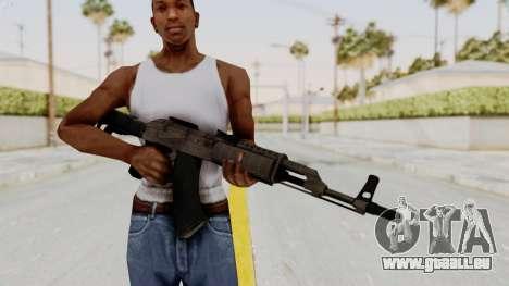 AK-47 Modern pour GTA San Andreas