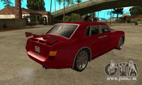 Rolls Royce Phantom für GTA San Andreas rechten Ansicht