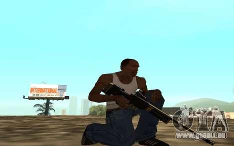 Golden weapon pack für GTA San Andreas siebten Screenshot