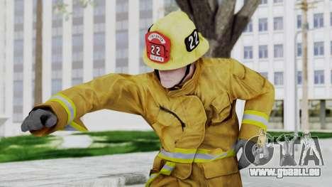 GTA 5 Fireman LV für GTA San Andreas
