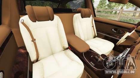 GTA 5 Maybach 62 S droite vue latérale