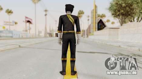 Power Rangers Wild Force - Black pour GTA San Andreas troisième écran