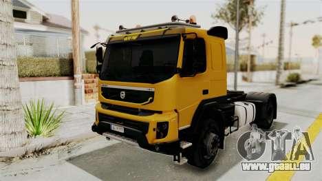 Volvo FMX Euro 5 4x2 für GTA San Andreas rechten Ansicht