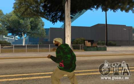 Grove Street Gang Member für GTA San Andreas dritten Screenshot