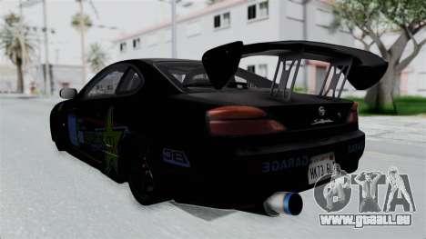 Nissan Silvia S15 RDT pour GTA San Andreas laissé vue