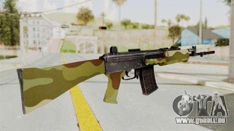 IOFB INSAS Camo v1 pour GTA San Andreas deuxième écran