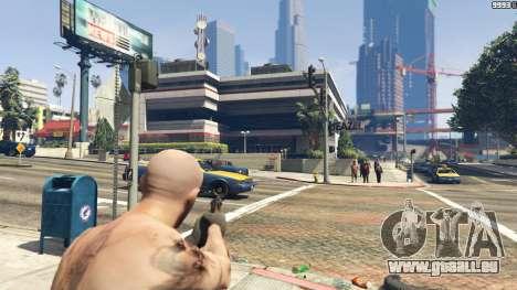 GTA 5 Python .357 Magnum CT6 zweite Screenshot