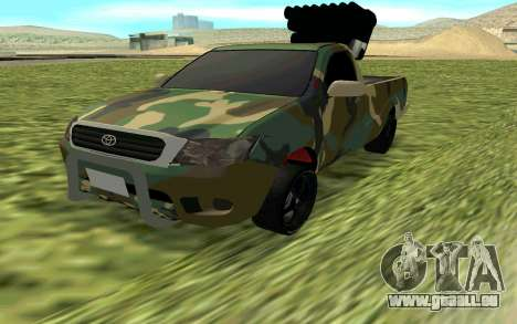 Toyota Hilux 2013 pour GTA San Andreas
