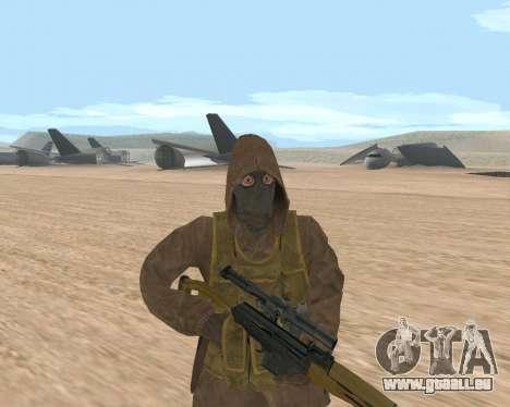 Soviet Sniper pour GTA San Andreas troisième écran