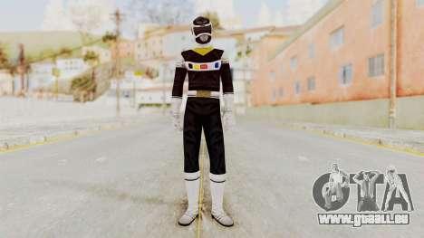 Power Rangers In Space - Black pour GTA San Andreas deuxième écran