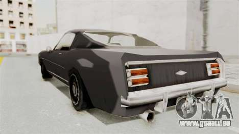 Dominator Classic für GTA San Andreas linke Ansicht