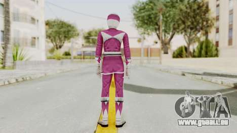 Mighty Morphin Power Rangers - Pink für GTA San Andreas dritten Screenshot