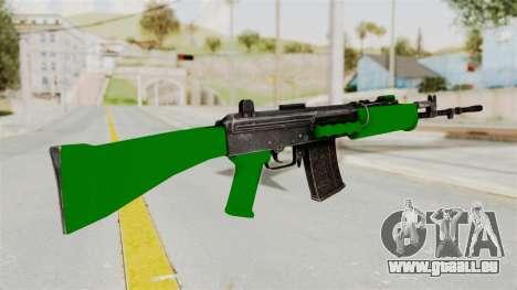 IOFB INSAS Dark Green für GTA San Andreas zweiten Screenshot