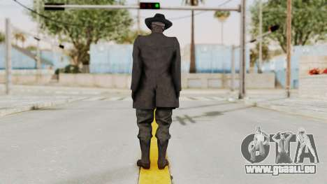 MGSV Phantom Pain SKULLFACE pour GTA San Andreas troisième écran