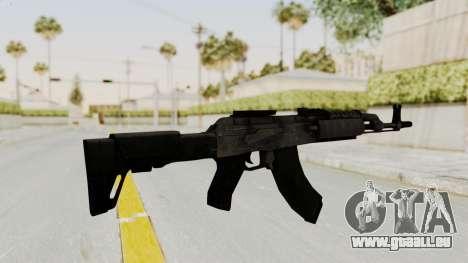AK-47 Modern pour GTA San Andreas troisième écran