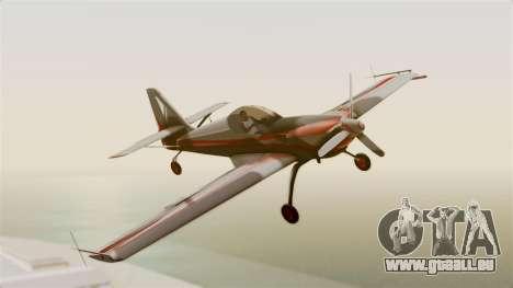 Zlin Z-50 LS Classic pour GTA San Andreas sur la vue arrière gauche
