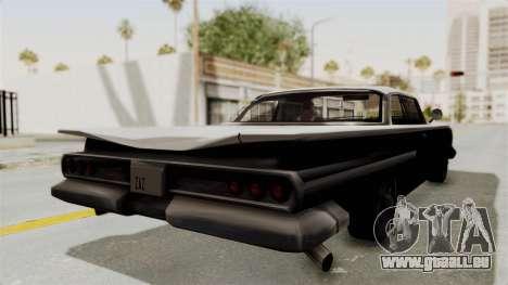 Voodoo Limited Edition pour GTA San Andreas sur la vue arrière gauche
