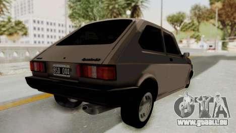 Fiat 147 TR De Picadas für GTA San Andreas rechten Ansicht