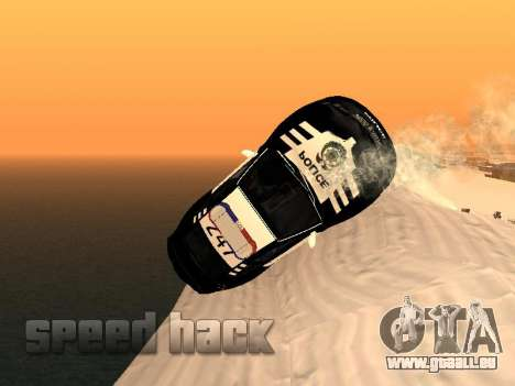 SpeedHack by Mishan pour GTA San Andreas