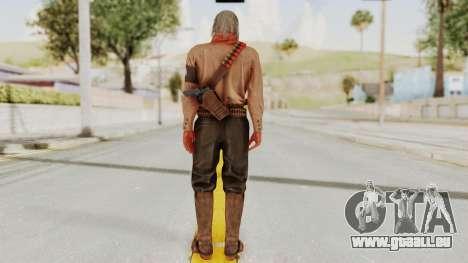 MGSV Phantom Pain Ocelot Mother Base pour GTA San Andreas troisième écran