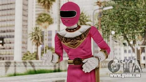 Power Ranger Zeo - Pink für GTA San Andreas