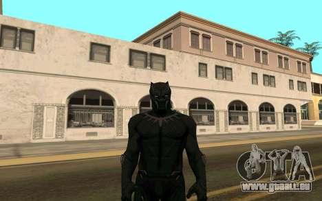 Black Panther confrontation pour GTA San Andreas