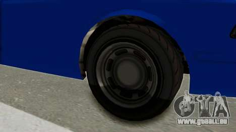 GTA 5 Vapid Stanier II Police Cruiser 2 für GTA San Andreas Rückansicht