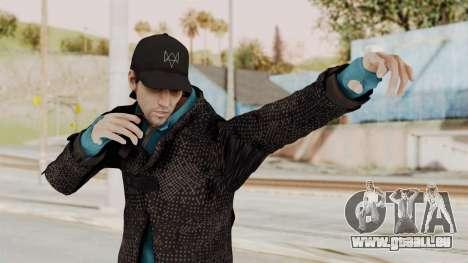 Watchdogs Aiden Pierce DedSec Outfit für GTA San Andreas