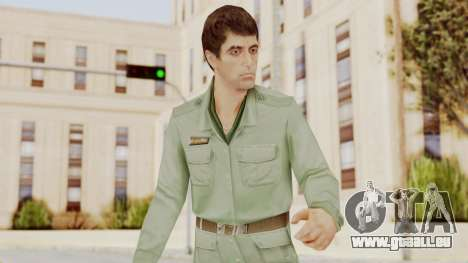 Scarface Tony Montana Army Costume für GTA San Andreas