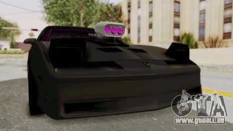 Pontiac Firebird 1982 Trans Am Drag für GTA San Andreas rechten Ansicht