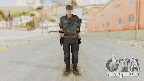 MGSV Phantom Pain Zero Risk Security LMG v2 pour GTA San Andreas deuxième écran