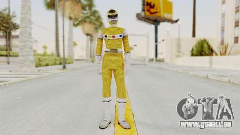 Power Rangers In Space - Yellow für GTA San Andreas zweiten Screenshot